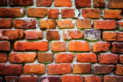Abstract red brickwork Stock Photography