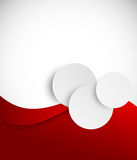 Abstract red brochure Royalty Free Stock Images