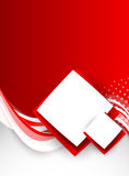 Abstract red brochure Royalty Free Stock Photos