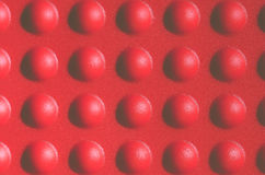 Abstract red bumpy surface Stock Photos