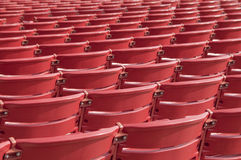 Free Abstract Red Chairs Stock Images - 13740854