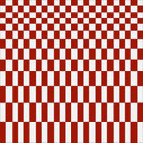 Abstract red checkered pattern background. Vector illustration Stock Image