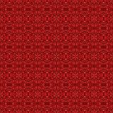 Abstract red seamless background pattern. 3d render illustration. Abstract red chips seamless pattern ornament. 3d render background stock illustration