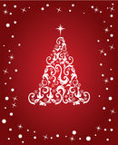 Abstract red christmas Royalty Free Stock Photos