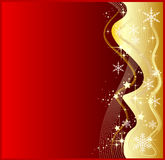 Abstract red christmas background Royalty Free Stock Photo