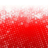 Abstract red christmas background Royalty Free Stock Images