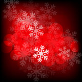 Abstract red christmas background Stock Photos