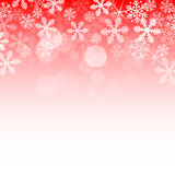 Abstract red christmas background Stock Image