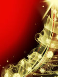 Abstract red christmas three background Royalty Free Stock Photography
