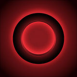 Abstract red circle background Royalty Free Stock Image