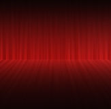 Abstract red color background with motion blur Stock Photography