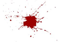 Abstract red color splatter design background. illustrati. On design stock illustration