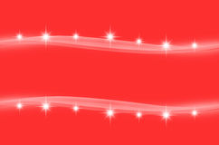 Abstract red color wave background Stock Images