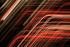 Abstract red colored lines Stock Photography