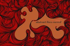 Abstract art pattern red colors style. Abstract red colors art pattern vector wallpaper backgrounds Vector Illustration
