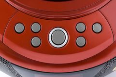 Abstract  red control panel Royalty Free Stock Photography