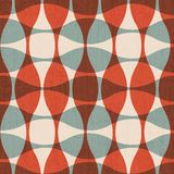 Abstract red curves seamless. (eps 10 vector illustration