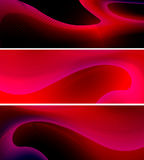 Abstract red curvy lines background Royalty Free Stock Photo