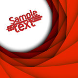 Abstract red 3d background. Abstract red 3d vector background Stock Photos