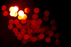 Abstract red defocused background Stock Photo