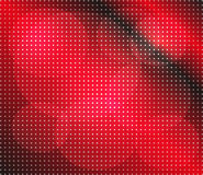 Abstract red dots on dark background Stock Images