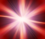 Abstract Red Explosion Background Stock Images
