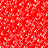 Abstract red fashion background Stock Image