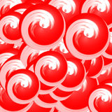 Abstract red fashion background Royalty Free Stock Photos