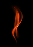 Abstract Red Fire Flame on Background. Vector Abstract Red Fire Flame on Background Stock Photo