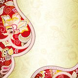 Abstract Red Floral Royalty Free Stock Images