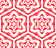 Abstract Red Flower Pattern Royalty Free Stock Image