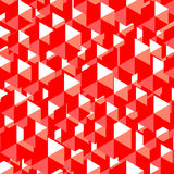 Abstract red geometric background Stock Image