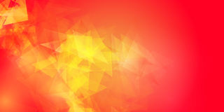 Abstract Red Geometric Background. Royalty Free Stock Photos