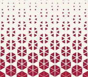 Free Abstract Red Geometric Hexagon Halftone Gradient Pattern Royalty Free Stock Photography - 120012527
