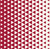 Abstract red geometric hipster fashion design print halftone triangle pattern Royalty Free Stock Photo