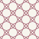 Abstract red geometric hipster fashion pillow pattern background Royalty Free Stock Photos