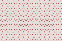 Abstract red geometric pattern and triangle shape on paper textu. Abstract geometric pattern and triangle shape on paper textured background with red color tone stock illustration