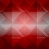 Abstract red geometric polygonal background.  Stock Image