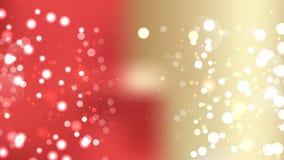 Abstract Red and Gold Bokeh Defocused Lights Background. Beautiful elegant Illustration graphic art design vector illustration