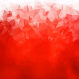 Abstract red gradient polygons Stock Photos