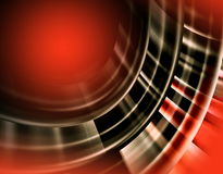 Abstract red graphics background Royalty Free Stock Image