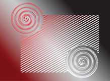 Abstract red-grey background. Stock Photos