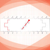 Abstract red grid medical Royalty Free Stock Images