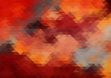 Abstract red grunge background Stock Photography