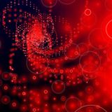 Abstract red halo background matrix Royalty Free Stock Photos
