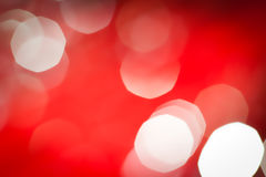 Abstract red holiday lights Stock Photos