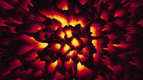 Abstract red-hot magma lava background infernal hell backdrop dark matter. Abstract red-hot magma lava background, infernal hell backdrop, dark matter stock illustration