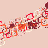 Abstract red illustration. Vector Stock Photo