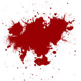 Abstract Red ink  paint splatter  Background. illustration  design Royalty Free Stock Photography