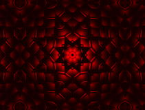 Abstract red kaleidoscope animation stock video footage